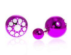 Oboustranné náušnice  #sperky #jewellery #jewelry #fashionjewellery #bizu #earrings #czech #czechgirl #náušnice #double earrings