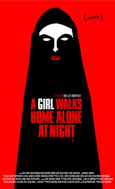 "Poster de ""A Girl Walks Home at Night"""