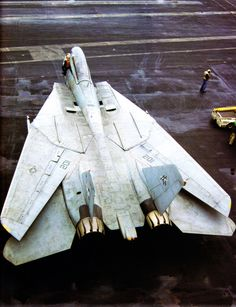 U.S. Navy F-14 Tomcat - our Naval Fleet IS facing a recurrent Soviet threat...we do need a long ranger fighter like this one again...give me ONE F-14D and add diamond. UNSTOPPABLE!
