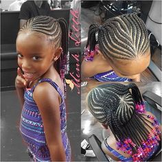 Braid Hairstyles For Kids Kids Protective Style …  Hairstyl…