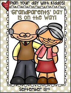 I Teach First: 1st Grade Teaching Resources: Grandparents' Day is on the Way!