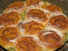 Шотландский пирог с имбирем и ревенем