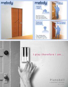 Melody Door and Pianobell