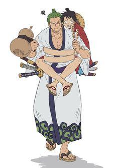 Zorojuro and Luffytaro One Piece Anime, Zoro One Piece, One Piece Comic, One Piece Fanart, One Piece Pictures, One Piece Images, One Piece Chopper, Hiro Big Hero 6, Ace And Luffy