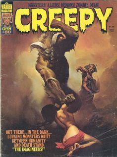 creepy+warren | Creepy Comics {Warren Publishing} - - , ...