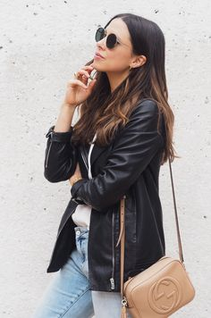 6e3aca20e727 Check out this  Reiss Cass Longline Leather Jacket  sold by Anneli Bush via