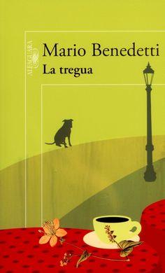 """Mario Benedetti, escritor/poeta magnífico  """"La tregua"""" (book cover)"""