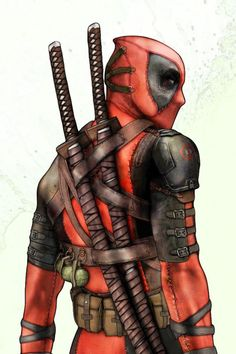#Deadpool I love this artist's interpretation