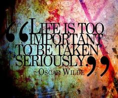 Oscar Wilde #Quote #Life