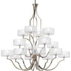 Thomasville Lighting PP4685104WB Caress Large Foyer Chandelier Chandelier - Polished Nickel