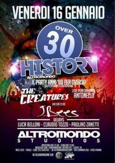 The Creatures per un super concerto all'Altromondo Studios!