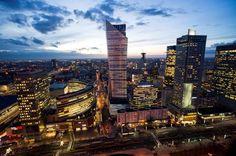 ZŁOTA 44 building #Złota44 #Warsaw #Poland #architecture #skycrapers #skyline #city #citycenter