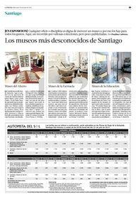 Museos Stgo / La Tercera