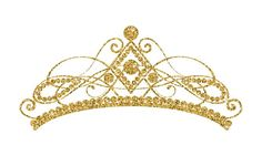 Golden tiara isolated on white background. Christian Clothing, Christian Apparel, Queens Tiaras, Black And White Stickers, Cute Shirt Designs, Crown Template, Family Tattoos, Gold Pattern, Tiaras And Crowns