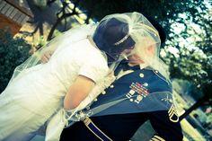 military wedding   I like this pose