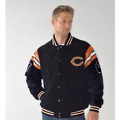 #DEAL, Today Only!, $99.95 Officially Licensed NFL Suede Jacket $33.32/mo