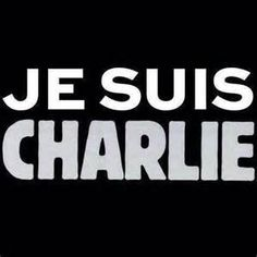 """Je Suis Charlie""  Freedom of speech, everywhere."
