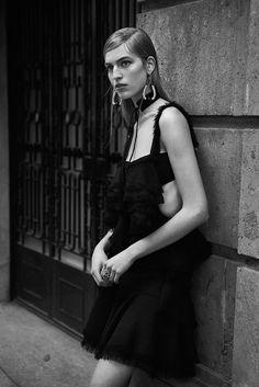 WSJ Magazine March 2016 Vanessa Axente Lachlan Bailey - Fashion Editorials