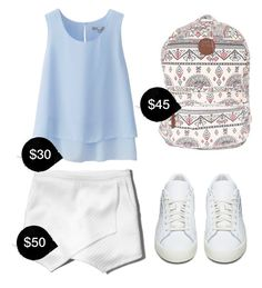 My First Polyvore Outfit by thaomalee631 on Polyvore featuring polyvore fashion style Uniqlo Abercrombie & Fitch adidas Originals Billabong clothing