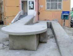 what goes on in the minds of wheelchair ramp designers, anyway..