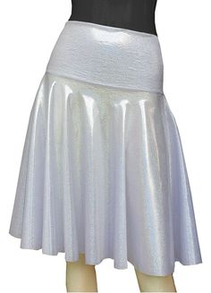 E K Women's flared short skirt Circle high or low waist mini skirt for party-holographic-m-L ** Read more at the image link. Women's Skirts, Casual Skirts, Short Skirts, Mini Skirts, Women's Flares, Fashion Outfits, Womens Fashion, Skirt Outfits, Holographic