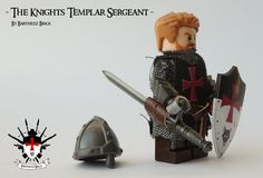Hi, this is my first attempt to create a custom LEGO minifig. It cost me some effort, but I'm contented :) I have a logo in the form of a templar shield and I had a long thought of transforming myself into a LEGO minifig. So see here the final result: Sir Barthezz Brick, The Knights Templar Sergeant. Of course you're not a sergeant for nothing, so there are more custom Knight Templars on the way. But before that i want to finish my WW2 MOC, considering that I'm working on that for a while…