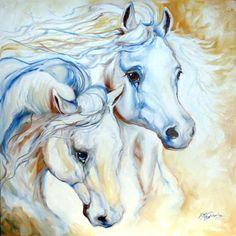 marcia baldwin. white horse