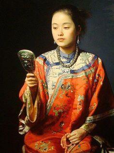 Jiang Guo Fang (姜国芳; b1951, Nanchang, Jiangxi Province, China)