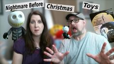 Nightmare Before Christmas ReAction toys and unboxing, Derek and Nikki R...
