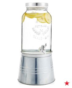 Great for crowds and keeping it cool, this ice bucket drink dispenser is a summer must. Shop it on macys.com now!