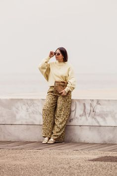 yellow trend Spring Summer 2018 - yellow outfit by Stella Asteria - Fashion