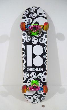 f80f56082 Plan B Ryan Sheckler Complete Skateboard Skulls Salazar / Speed Demons !!!  RARE