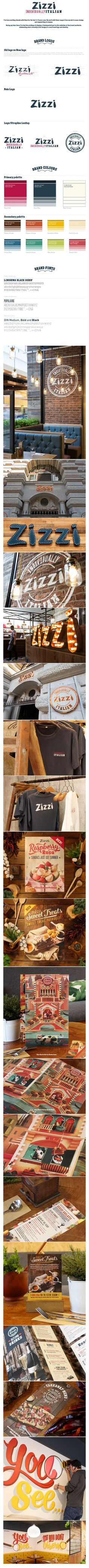 Zizzi     By Tobias Hall, Art Direction Branding Graphic Design