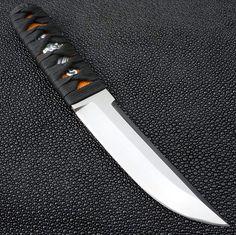 Mitchell Knives - Titanium Nosferatu - Hand Wrapped Cord