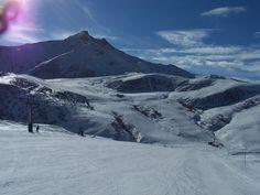 skvělý sníh v alpách Saints, Santos