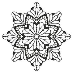 Blackwork Quilt Pattern 2 - 3 Sizes! | What's New | Machine Embroidery Designs | SWAKembroidery.com Ace Points Embroidery