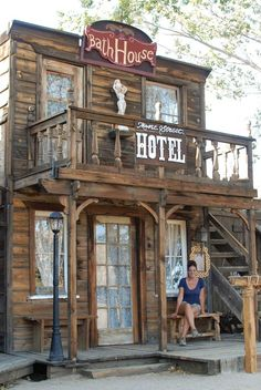 My Guide to Joshua Tree, California Western Saloon, Western Theme, Western Decor, Old West Saloon, Western Store, Old West Town, Old Town, Play Houses, Bird Houses