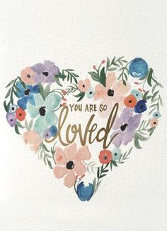 """Just in time for spring, this watercolor-inspired floral card is the prettiest way to say """"I love you."""" Shop Hallmark Signature's new card collection created by some of today's most trendsetting designers. There's something for everyone in your life! Bible Quotes, Me Quotes, Fierce Quotes, Cousin Quotes, Daughter Quotes, Father Daughter, Family Quotes, Watercolor Quote, Watercolour"""