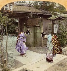 3D photos from 1850s Japan / Boing Boing