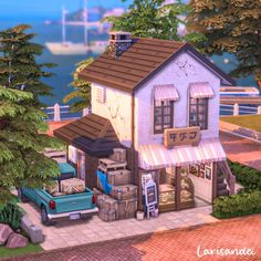 The Sims 4 Lots, The Sims 4 Pc, Sims Cc, Sims 4 House Plans, Sims 4 House Building, Muebles Sims 4 Cc, Sims 4 House Design, Casas The Sims 4, Sims 4 Build