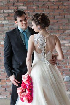 EMMA-Veluz one shoulder sequin embellished ball gown-http://eabridal.com