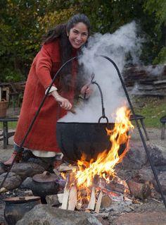 madlavning  hverdag og arbejde  Vikingeplads 44  sagnlandet lejre