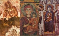 8 of the oldest images of the Theotokos