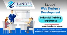 We provide #Best_Real_time_tarining with #practical_knowledge on (#Web_Design and #Development, #UI Design with #Angular js, #Graphic_Design, #Digital_Marketing, #PHP_Development......We will help you to #achieve_your_goals_confidently and we are giving the #training to train your #skills. Visit : www.iltcs.com More Details Please Reach me 9000299706(whatsapp/ call) Office Address: iLander Technologies Pvt Ltd(www.ilandertech.com) MIG 87, First Floor, Road No.1, KPHB colony Kukatpally…