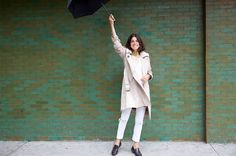 Rain-proof style over at Man Repeller