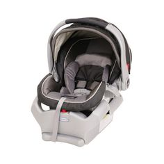 Graco Snugride 35 - Flint - babyearth.com ($170) ❤ liked on Polyvore featuring baby