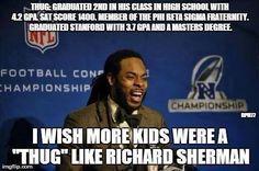 Seahawks Richard Sherman Rawks!! #GoHawks #Back2Back #SuperBowlRePete