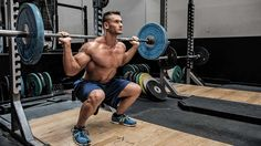 """Admittedly, I do NOT do BB squats at this point in my career, BUT for the first 10 years of my training I WAS a dedicated squatter! Check out my latest article for Muscle & Fitness entitled """"5 Reasons You Need to Squat!"""" Enjoy! -eb/merlin"""