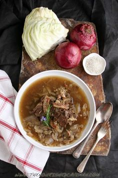 Bacon Cabbage Chuck Beef Stew: Paleo Comfort Food!