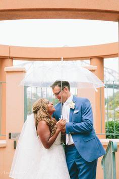 Beautiful Rainy Day Wedding Portraits Brisbane City Eagle Street, Wedding Venue La Vue Restaurant, Celebrant Natasha Hill, Hills Celebrant, Wedding Photographer Brisbane Anna Osetroff